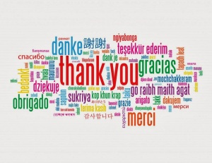Thank You ~ many languages